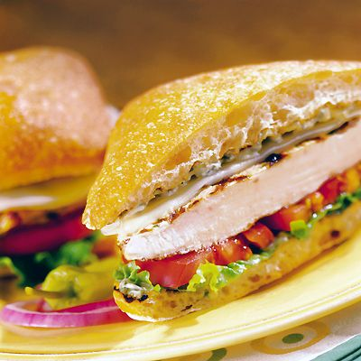 Grilled Chicken Sandwiches with Pesto Mayo Recipe