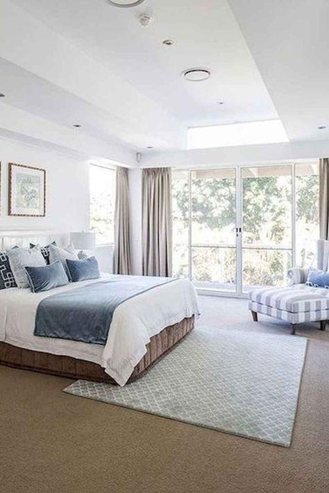 120 Awesome Farmhouse Master Bedroom Decor Ideas 91