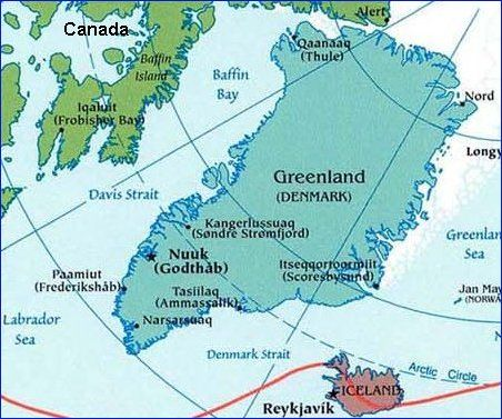 map of greenland cities Google Search MAPS Pinterest