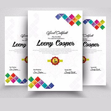 قالب الشهادة Certificate Templates Free Business Card Design Certificate Design Inspiration