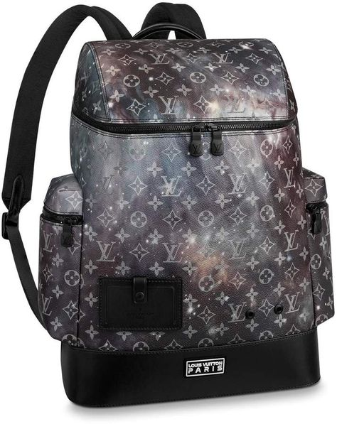 f7acd35425d7b Louis Vuitton Backpack Alpha Monogram Galaxy Black Multicolor in ...