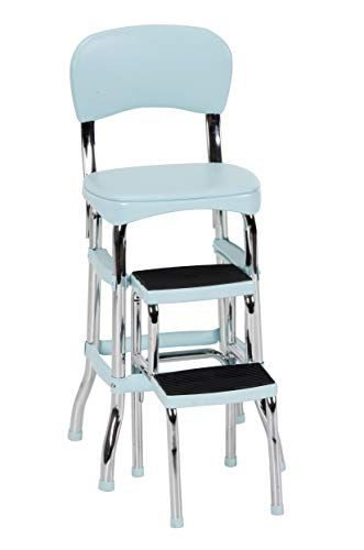 Cosco 11120tea1e Stylaire Chair And Step Stool Teal Cosc Https Www Amazon Com Dp B07rrf22y4 Ref Cm Sw R Pi Dp U X Lgwleb2qk3 In 2020 Step Stool Retro Chair Cosco