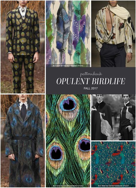The Patternbank Team bring you Part 1 of the key Print Trends from the Fall 2017 Menswear Catwalk shows, alongside our curated print designs from The Patte