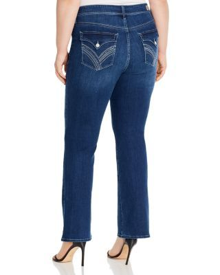 Seven7 Jeans Plus Mr. Slim Bootcut Jeans in Showtime