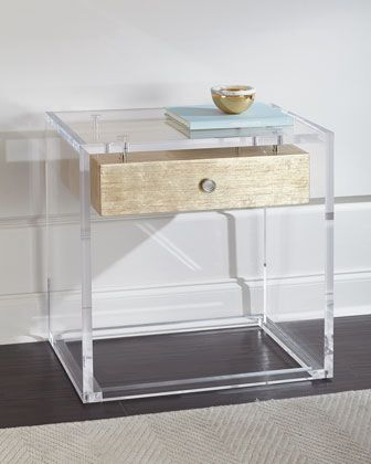 Eunice Acrylic Side Table Acrylic Side Table Acrylic Bookcase Side Table