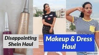 Makeup & Dress Haul I Nykaa I Shein I AmazonI Big Bazar Etc