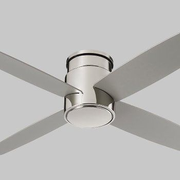 Oslo Flushmount Ceiling Fan In 2020 Hugger Ceiling Fan Flush Mount Ceiling Fan Modern Ceiling Fan