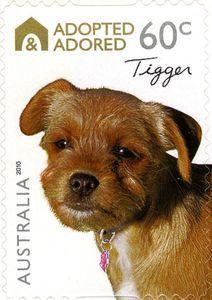 Sello Tigger Australia Adopted Adored Mi Au 3419 Yt Au 3298 Sg Au 3440 Wad Au092a 10 Sellos Sellos De Correos Estampillas