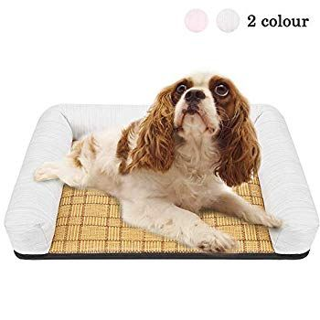 Dog Bed Mattress Summer Sleeping Mat Washable Pads Room Cooling Pad Drop Cushion Waterproof Bottom Click Image To Revi In 2020 Mattress Dog Bed Dog Bed Washable Pads