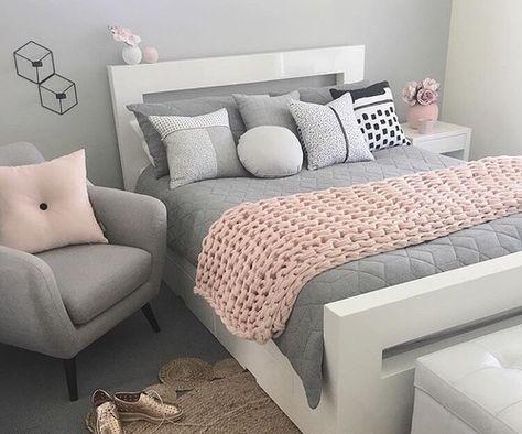 Imagen De Baby Pink Bedroom And Interior Pink Bedroom Decor Room Inspiration Bedroom Pink And Grey Room