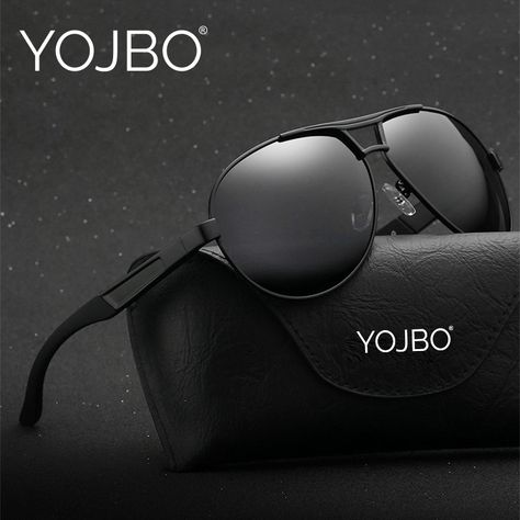 YOJBO Aviator Mens Sunglasses 2018 Polarized Gafas De Sol Mujer Points for  Women Sun Polar Driver Glasses Brand Designer Eyewear. a9009033c4bc3