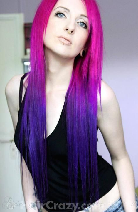 Ginie Directions Cerise Directions Plum Multi Colored Hair Arctic Fox Hair Color Hair