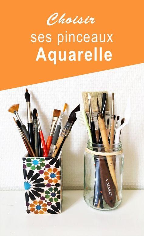 Comment Choisir Ses Pinceaux Aquarelle Des Conseils Adaptes A