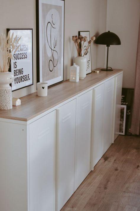 Ikea Hack: schickes Upcycling einer Mini Kommode | DO ITeria