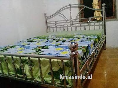 Model Tempat Tidur Besi