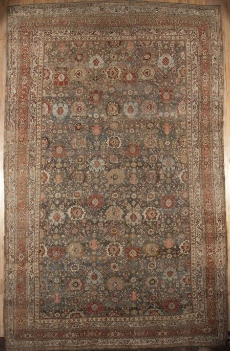 Bidjar Origin Persia Us Size 12 10 X 20 8 Circa 1910 Metric Size 3 91 X 6 3 Meters Antique Rug Co Antique Carpets Rugs Bohemian Rug