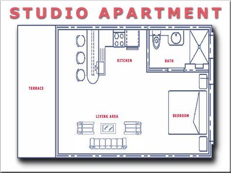 Studio Apartment Floorplans Find House Plans Studio Floor Plans Apartment Floor Plans Studio Apartment