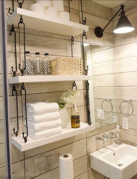 Amazing Small Bathroom Storage Ideas On A Budget With Images Small Bathroom Remodel Small Bathroom Small Bathroom Storage