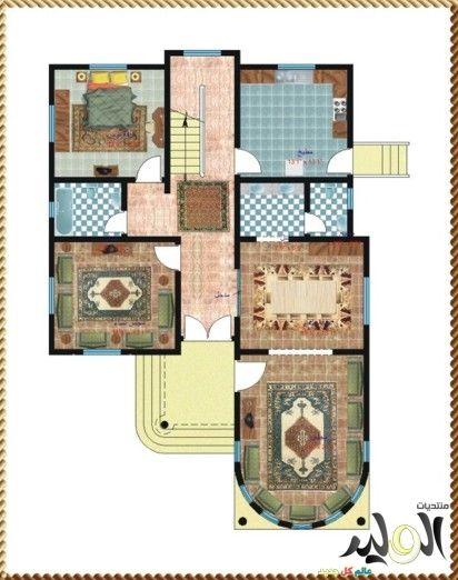 اروع تصاميم صور فلل دورين جميلة بالصور 2017 تصاميم معمارية الوليد Dream House Rooms House Rooms Font Arial