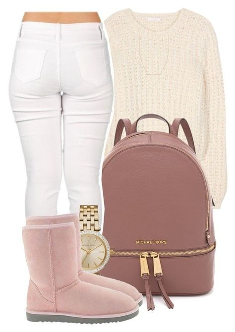 """"""" Then I guess that I won't be loving you """" by mindlesspolyvore ❤ liked on Polyvore featuring Chloé, Casetify, MICHAEL Michael Kors, Michael Kors, UGG Australia and Rebecca Taylor"""
