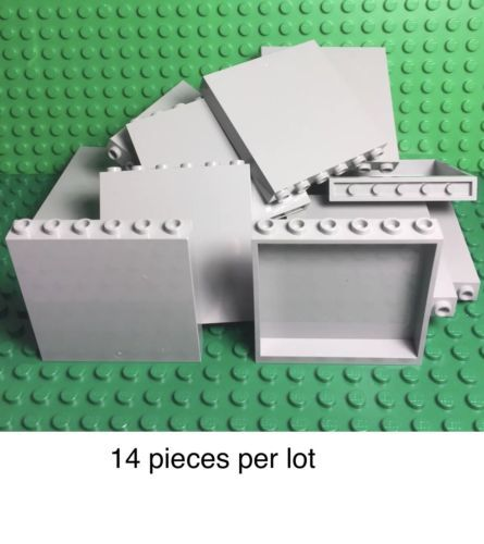 LEGO Lot of 10 Light Bluish Gray 2x2 Round Bricks