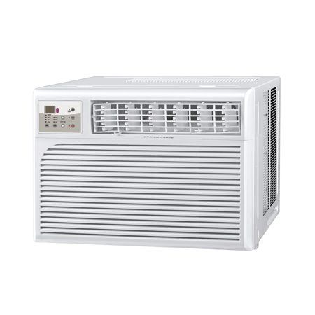 Cool Living 15 000 Btu 115 Volt Window Air Conditioner With Digital Display And Remote White Window Air Conditioner Cool Rooms Window Unit