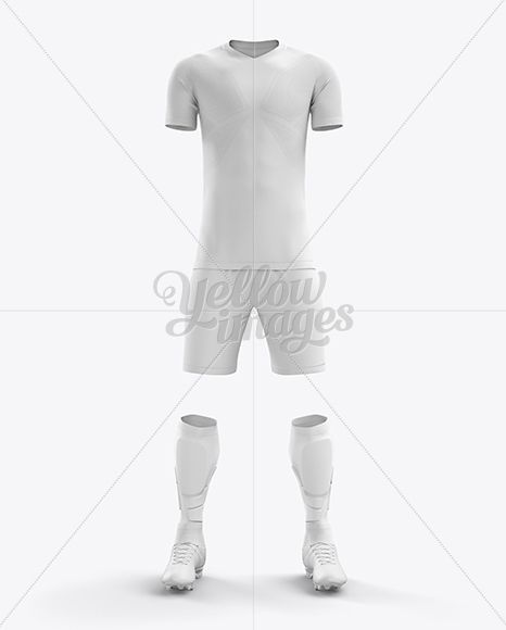 Download Men S Full Soccer Team Kit Mockup Front View In Apparel Mockups On Yellow Images Object Mockups Clothing Mockup Soccer Team Mockup Free Psd