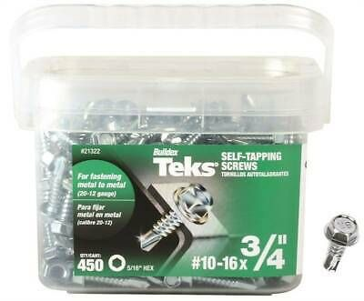 Sponsored Ebay Teks 21322 Self Tapping Screw 10 Thread Self Drill Point Screws Roofing Screws Drill
