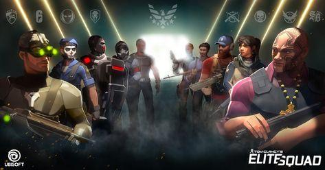 Ubisoft anuncia Tom Clancy's Elite Squad – Aumanack sem Limites