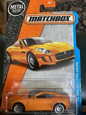 Matchbox 2015 Jaguar F Type Orange Coupe Mbx Adventure City Ebay Matchbox Hot Wheels Cars Toys Jaguar F Type