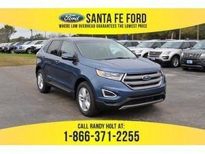 2018 Blue Ford Edge Sel 379771 Ford Edge Titanium Blue Ford Fusion