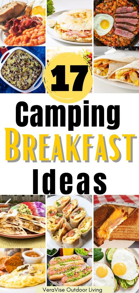 There is nothing better than waking up to a gorgeous view outside your camper while you enjoy a tasty and hearty camping meal for breakfast. Here are 17 camping breakfast ideas that will definitely make your mornings.