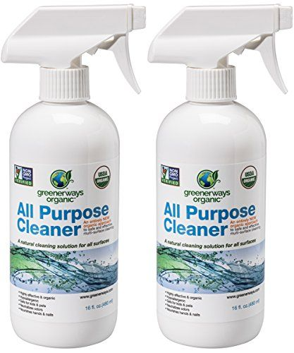 Greenerways Organic All Purpose Cleaner Natural Usda Org