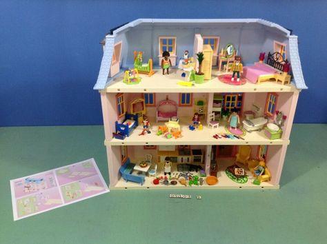 eBay #Sponsored (O5303.9) playmobil maison traditionnelle ...
