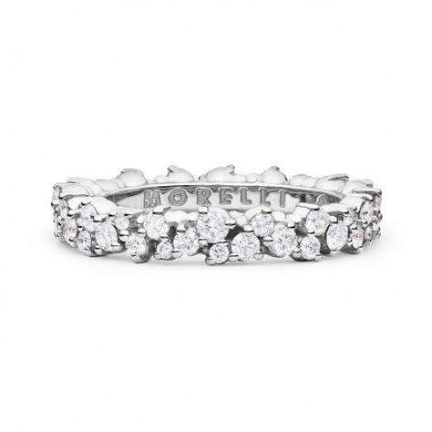 32ddb441bae Stefan Hafner Small Diamond Corset Ring