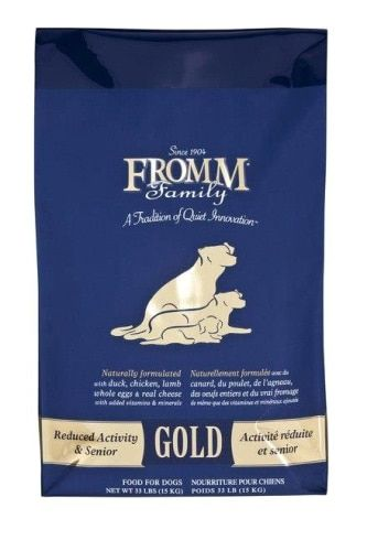 Fromm Gold Adult Senior 33lb Dry Dog Food Dry Dog Food Dog Food