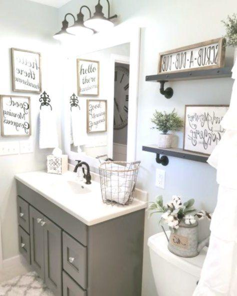 Farmhouse Bathroom By Blessed Ranch Farmhouse Decor Guest