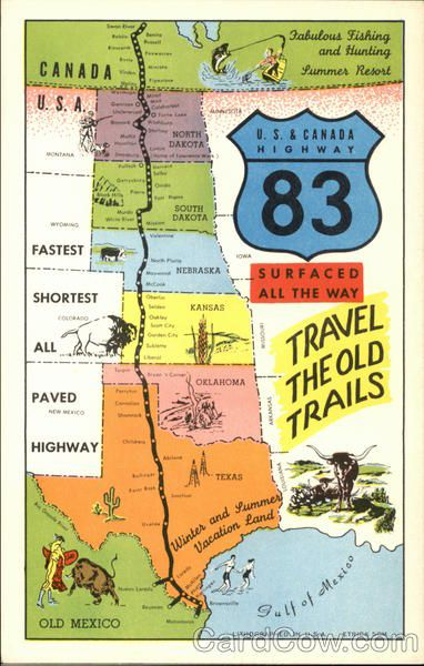 17 Best images about Travel on Pinterest Highway map Maps