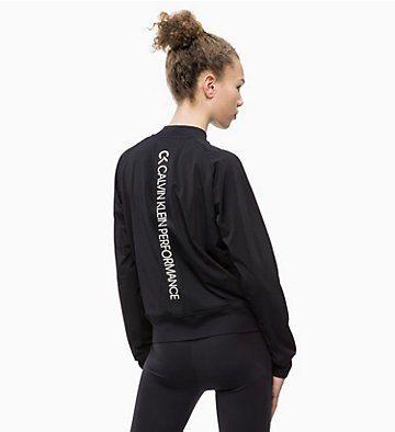 Calvin Klein Sweatshirt Vintage Logo Large Sweatshirt Ls Damen Weiss Grosse M Calvin Klein Sweatshirt