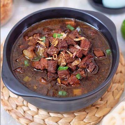 Rawon Daging Resep Masakan Masakan Resep