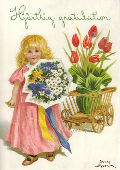 Cordial greetings jenny nystrom 1845 1946 swedish its spring cordial greetings jenny nystrom 1845 1946 swedish its spring fever pinterest illustrators artist and illustrations bookmarktalkfo Choice Image
