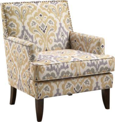 Aubinwood Yellow Accent Chair Nbsp 299 99 29w X 30d X 35 25h