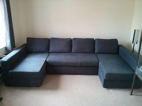 Manstad/Friheten + Manstad/Friheten = Massive U-Shaped Sofabed - IKEA Hackers