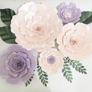 Hiasan Dinding Ruang Tamu Berbentuk Bunga Buatan Sendiri Dari Kertas Bunga Bunga Buatan Sendiri Bunga Buatan