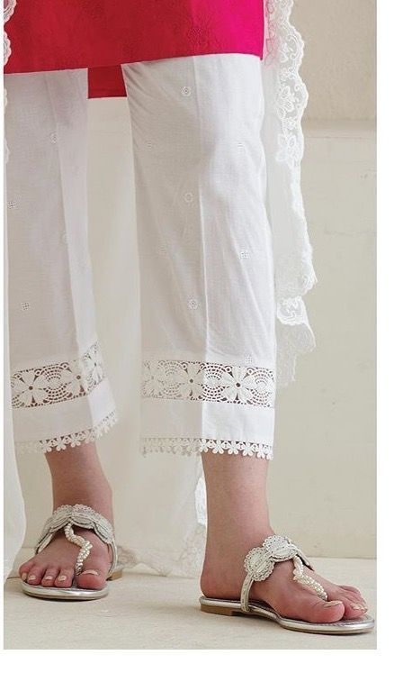 Flats and white pants - India - Miladies.net
