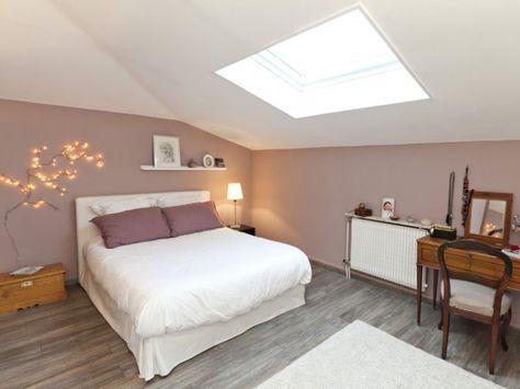 Couleurs murs/ belle séparation murs-plafond