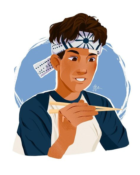 "𝗰𝗿𝗲𝗮𝘁𝗶𝘃𝗲𝗻𝗮𝗻𝗱𝗮✨ on Instagram: ""Fanart of The Karatê Kid 🥋  . Miyagi: ""We make sacred pact. I promise teach karate to you, you promise learn. I say, you do, no…"""