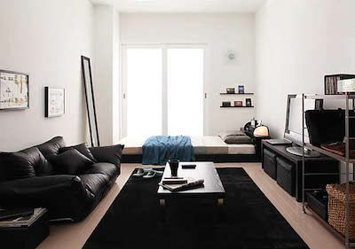 一人暮らしの部屋のおしゃれなレイアウト 男性編 画像で紹介します 部屋 インテリア インテリア 1k インテリア