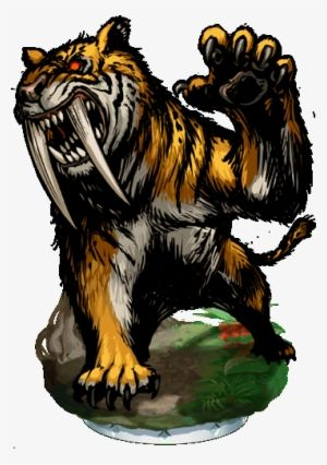 Saber Tooth Tiger Png Images Png Cliparts Free Download On Seekpng Sabertooth Png Images Tiger