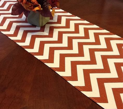 Items similar to Table Runner - Rust-Natural Chevron Table Runners - Chevron Table Runners For Weddings or Home Decor - Select A Size on Etsy#chevron #decor #etsy #home #items #runner #runners #rustnatural #select #similar #size #table #weddings